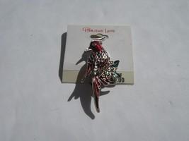 BROOCH bird brooch on holiday lane card - $2.96