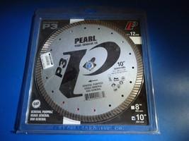 Pearl Abrasive DIA010BL 10 X .080 X Dia 5/8 Pearl P3™ Flat Core Turbo Blade - $49.49