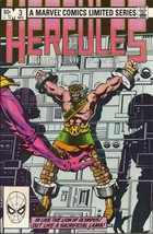 (CB-7) 1982 Marvel Comic Book: Hercules , Prince of Power #3 - $3.00