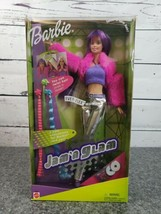 Barbie JAM 'N GLAM 2001 New In Package. Mattel #50257 W/ 3 Xtra Hair Ext... - $29.88