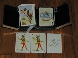 New 2 decks Piatnik Kingsbridge Coronet Playing Cards Patience Bird/Hummingbird - $58.49