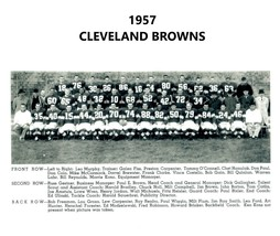 1957 Cleveland Browns 8X10 Team Photo Football Picture Nfl - $3.95