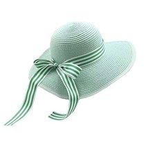 UV Girls Summer Sunscreen Large Brimmed Hat Child Children Folding Beach Hat