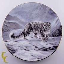 "Bradford Exchange Collector's Plate 1991 ""Fleeting Encounter"" Snow Leopa... - $29.69"