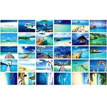 30 PCS 1 Set Collectible World's Beautiful Postcards, Famous Maldives - $12.47