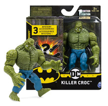 "The Caped Crusader Killer Croc 4"" Action Figure with 3 Mystery Accessori... - $16.88"