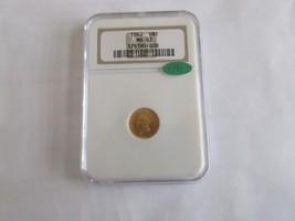 1862 , Indian Princess Gold Dollar ,  , G$1 , NGC & CAC , MS 63 - $985.05