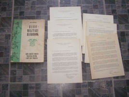 WWII Restricted Basic Military Handbook Army Service Forces Training Cen... - $32.99