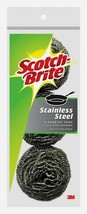 Scotch-Brite Stainless Steel SCRUBBING PADS 3 ct. Pots Pans Grill Cookwa... - $9.17