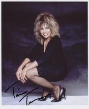 Tina Turner SIGNED Photo + COA Lifetime Guarantee - $145.99