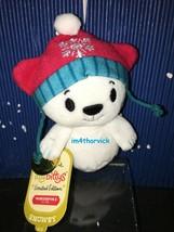 Hallmark Itty Bittys Snowby The Polar Bear 2015 Limited Edition Northpole - $15.99
