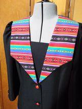 Eileen Scott Dallas Dress Size 8 Multi-Colored Vintage  image 3