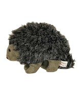 "Vintage Dakin Pillow Pets Hedgehog Plush 9"" Long Porcupine 1982 Realistic Nature - $19.79"