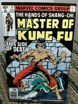 Marvel Master Of Kung Fu Comic Issue 79 August 1979 - £2.37 GBP