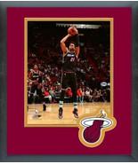 Hassan Whiteside 2018-19 Miami Heat -11x14 Team Logo Matted/Framed Photo - $43.55