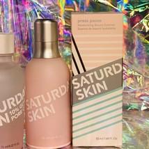 BNIB Saturday Skin FULL SZ CLARIFYING TONER + Press Pause Hydrating Essence image 2