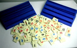 Pressman Rummikub Fast Moving Rummy Tile Game No Box 106 Tiles Complete - $16.39