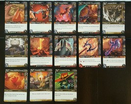 Lot Set of 13 World of Warcraft Trading Card Game WoWTCG Item Equipment ... - $1.49