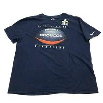 Nike Super Bowl 50 Denver Broncos Shirt Mens Size 2XL XXL Athletic Cut C... - $19.19