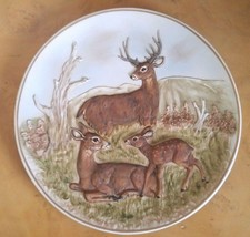 The Deer Family Limited Edition Enesco Collectors Plate Limited to 5000 - RARE - $20.00