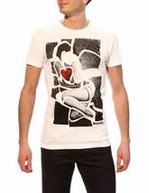 Bench Betty Urban Streetwear Men's White Graphic T-Shirt NWT image 1