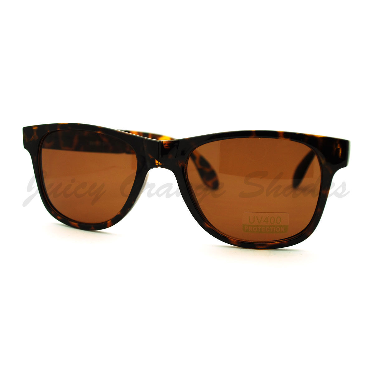 Folding Foldable Sunglasses 80's Classic Square Horn Rim Shades