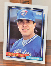 New Mint Topps trading card Baseball card 1992 681 Rene Gonzales BlueJays - $1.48