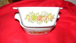 Corning Ware P-43-B Spice Of Life Casserole Dish 22 Ounce X 2 Free Us Shipping - $28.04