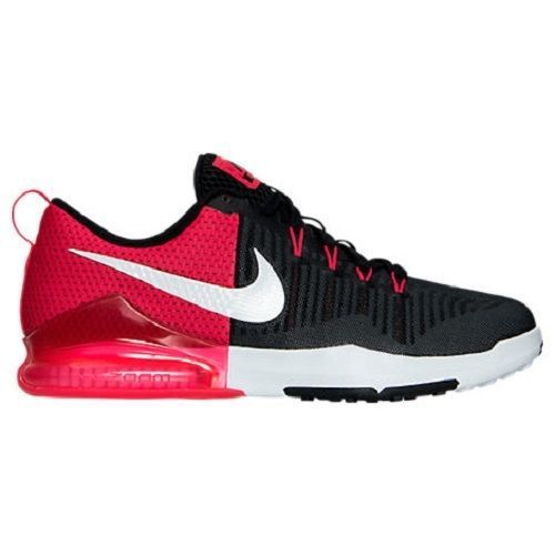 hot sales 246fb 8a2ff Men's Nike Zoom Train Action Training Shoes, 852438 002 Size 10 Black/White/
