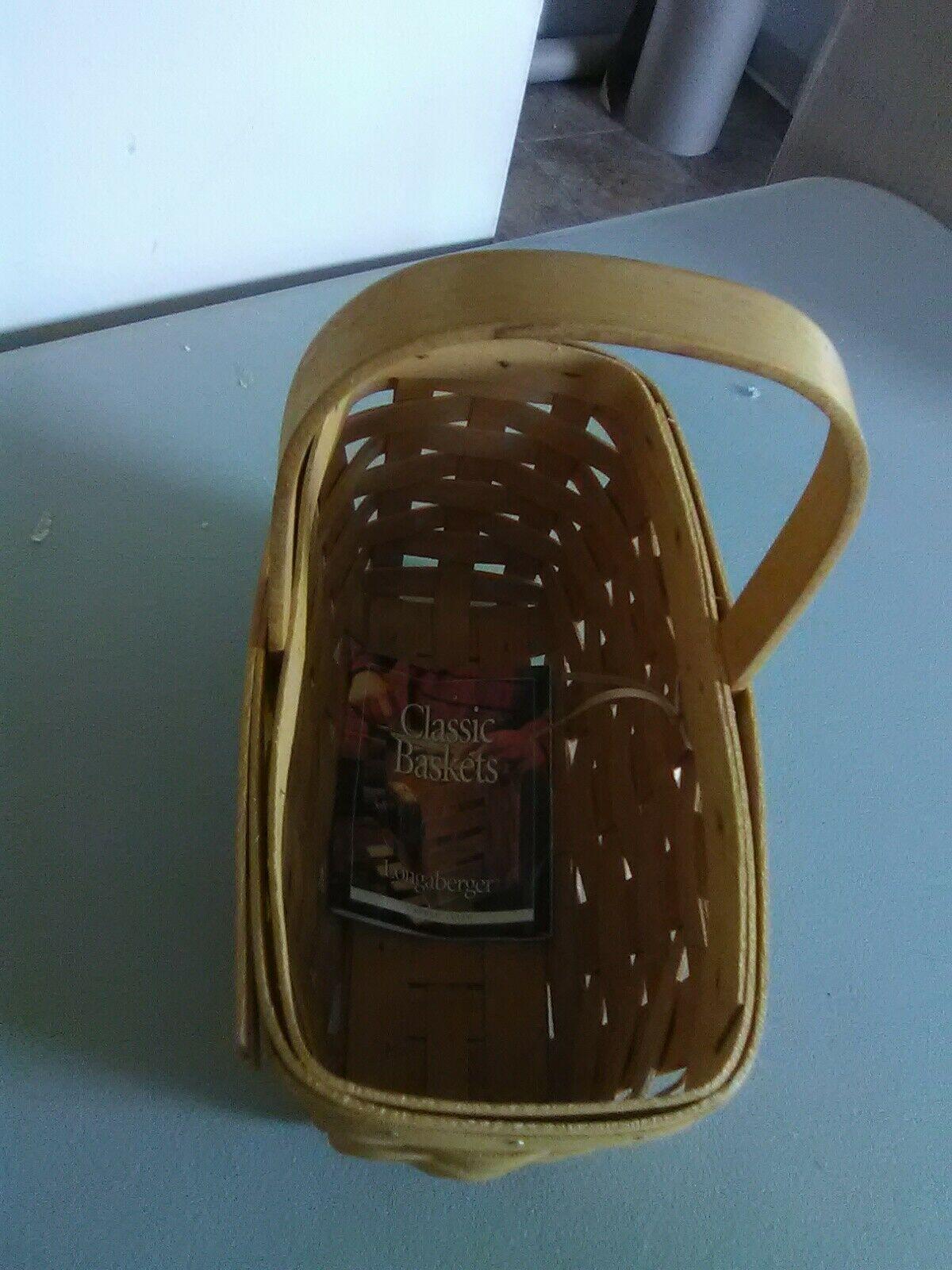 Longaberger Fixed Handle Candle Basket - 1999 image 2