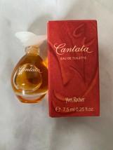 Yves Rocher Cantata Eau De Toilette .25 Oz. Travel Size Perfume Made In France - $19.79