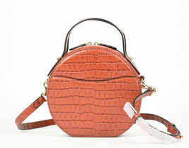 Rebecca Minkoff Jody Croc Embossed Leather Circle Crossbody Bag (Retail ... - $117.81