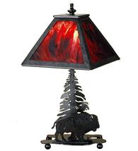 """15.5"""" High Buffalo Accent Lamp - $405.00"""