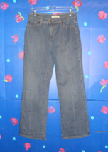 LEVI'S PERFECTLY SLIMMING BOOT CUT 512 JEANS  10 SHORT - $19.99