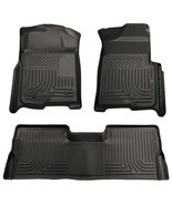 Husky Weatherbeater 2009-2014 Ford F-150 SuperCrew Crew Cab Floor Mats B... - $193.95