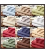 Bamboo sheet set king wrinkle free 2200 thread count - $115.00