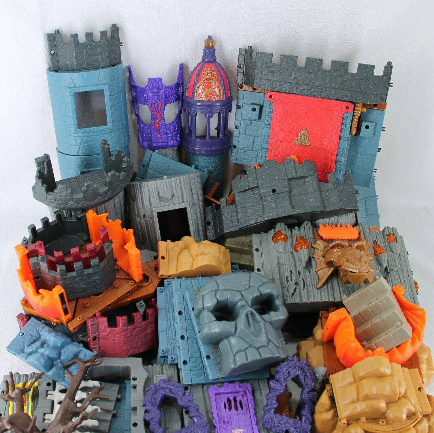 Imaginext Lot Battle Castle Goblins Dungeon Dragomonts Fortress Incomplete Sets image 3