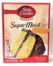 Betty Crocker Super Moist Yellow Cake Mix 15.25 oz - $3.95