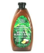 1 Bottle Dead Sea Collection 33.8 Oz Hemp & Coconut Lime Mineral Bubble ... - $14.99