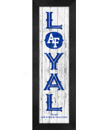 """Air Force Falcons """"Proud or Loyal""""- 8x24 Wood-Textured Look Framed Prints - $39.95"""