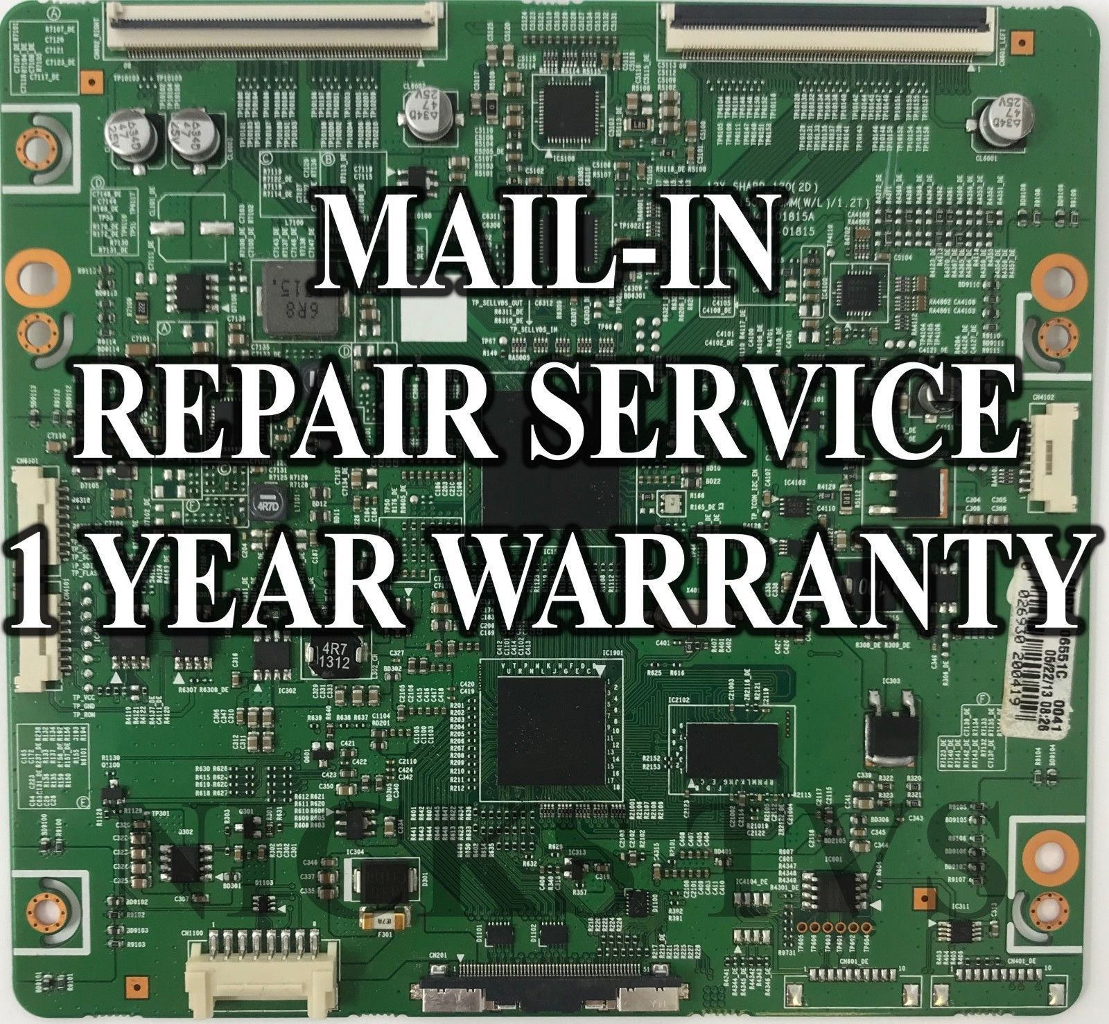 Mail-in Repair Service For LG 65EF9500 Main Board 1 YEAR WARRANTY