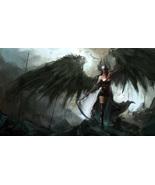 Haunted Fallen Angel Three Item Phylactery Transfiguration Amulet Spell ... - $930.00