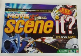 Scene it GAME Movie 2nd Edition The DVD Game 2009 Mattel Complete  - $16.82