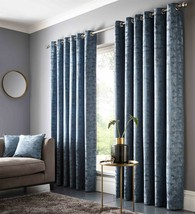 Studio G Teal Blue Ring Top Curtains – 9 Sizes - $85.64+