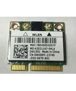 Genuine Dell XPS 8300 DW1501 WiFi Wireless Card BCM94313HMG2L WHDPC K5Y6D - $7.91