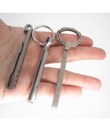 keyring key multipurpose Titanium Ti ring outdoor clip multifunction cam... - €9,97 EUR