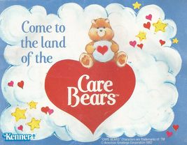 Vintage 1982 Care Bears Kenner Toys Mini Catalog Booklet - $4.95