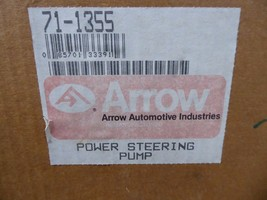 71-1355 GM Power Steering Pump Remanufactured By Arrow Chevy 1990-1993 image 2