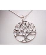 Tree of Life Pendant 925 Sterling Silver Corona Sun Jewelry - $8.41