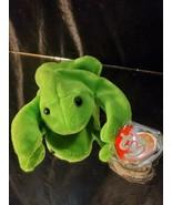 "Original TY Beanie Babies ""Legs"" The Frog P.V.C. 1993 1st Gen. T.T  2nd ... - $1,188.00"